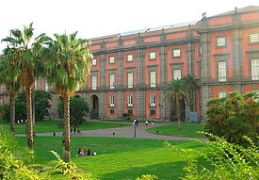 Car rental in Naples, The National Museum and Capodimonte Gallery, Italy